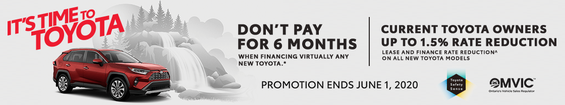 Toyota offers in Markham